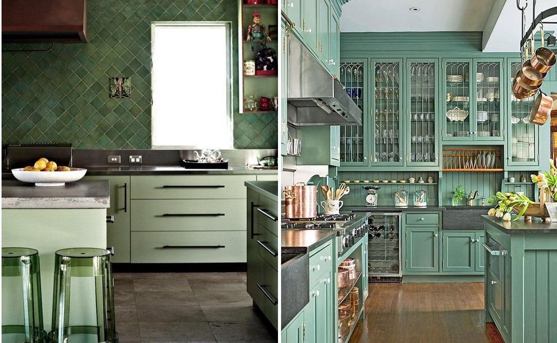 Momentum blog siga a tend ncia cores em alta para a - Cocina verde agua ...