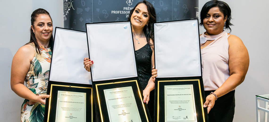 Instituto Rubens Meneghetti entrega o 16º Prêmio Professor Exemplar