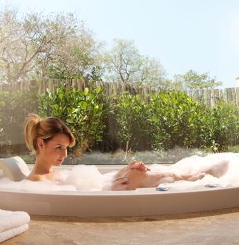 Os benefícios dos banhos relaxantes