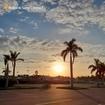 Que o seu fim de semana seja tão lindo quanto o pôr do sol na Riviera II 🌅
