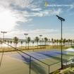 Uma coisa é você jogar tênis. Outra coisa é você jogar tênis com essa vista do Iate XIII 🤤 Quem você chamaria para uma partida? Marca nos comentários! 👇🏼