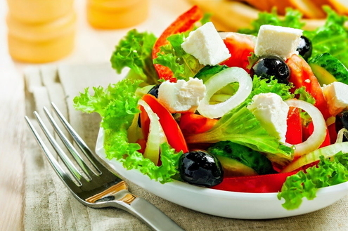 Tenha uma alimentação saudável com pratos coloridos
