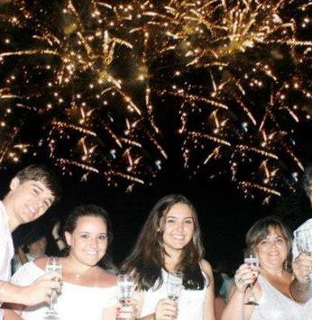 Alegria e muita festa marcaram a chegada de 2013!
