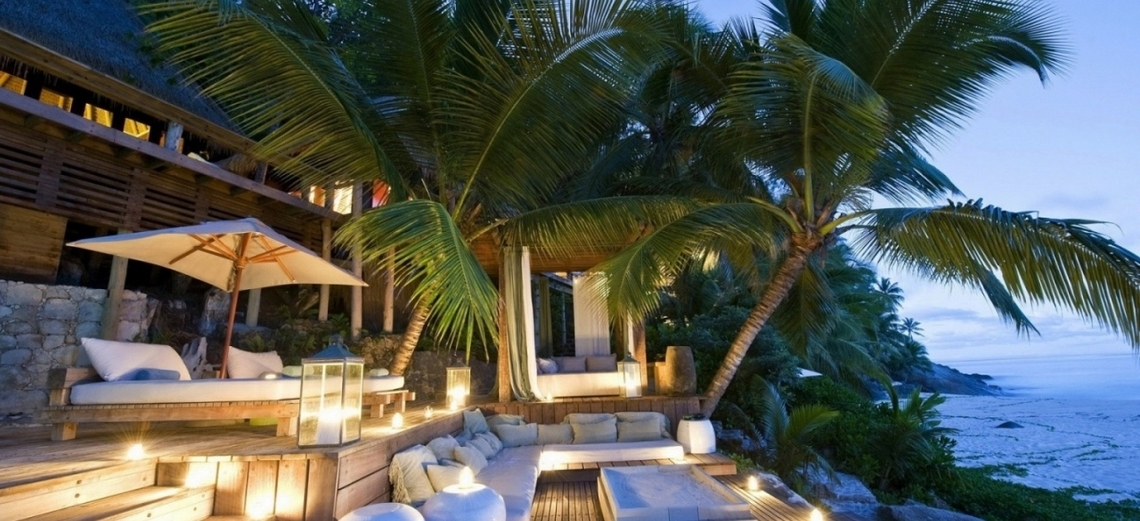 Casas com estilo tropical