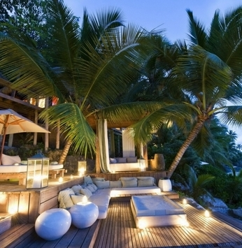 Casas com estilo tropical