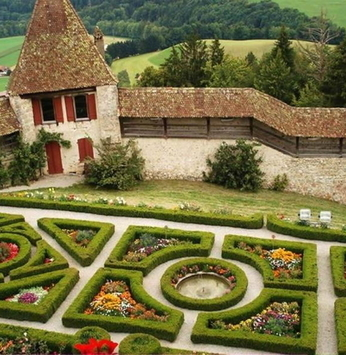 Jardim europeu