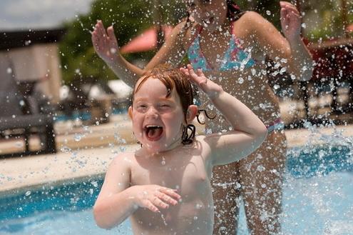 Cuidados com as crianças na piscina e na Represa Jurumirim