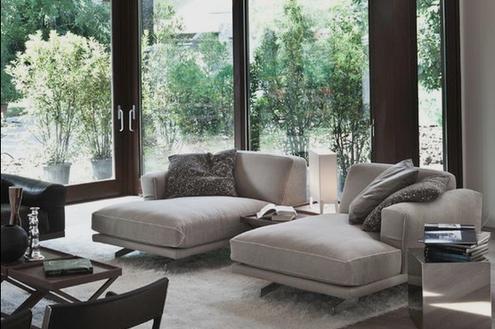 O conforto da chaise longue na decoração