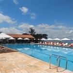 Área da piscina do Iate Clube IV