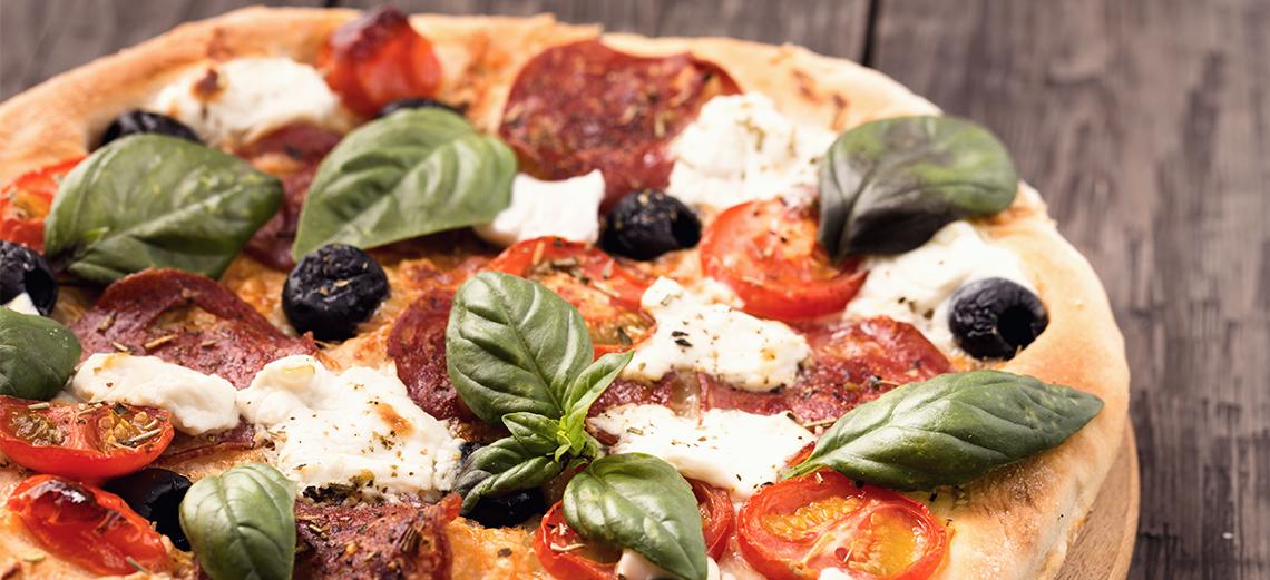 Pizza em casa! Da Fonte oferece serviço de delivery no Santa Bárbara
