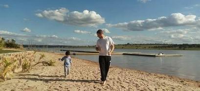 Famílias compartilham momentos com pais nos empreendimentos da Momentum