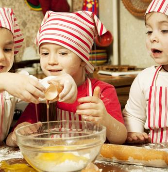 Dicas para cozinhar com os pequenos