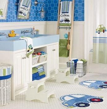 Banheiro divertido para crianças