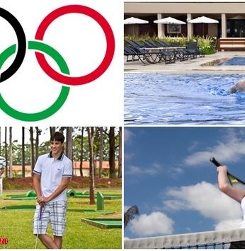 Entre no clima das Olimpíadas e pratique algumas modalidades nos empreendimentos
