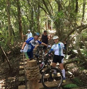 Pedal na Trilha: proprietários de lotes formam grupo de ciclistas em empreendimento da Momentum