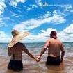 Não sei se fico mais apaixonada pelo casal ou pela beleza da Represa Jurumirim 🥰 Esse fotão é da @daysemaramelo. Me envia o seu click aqui na Riviera IV também! 📸