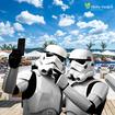 Guerrear nas estrelas? Tô fora! Tiro minha selfie no Ninho II e vou embora! 🤳🏽 #starwarsday