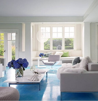 Inove na decoração com pisos pintados