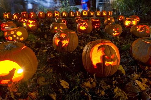 Decoração para o Halloween