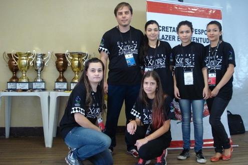Paulo Delício está entre as melhores escolas no xadrez