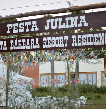 Festa Julina agita o Santa Bárbara Resort Residence
