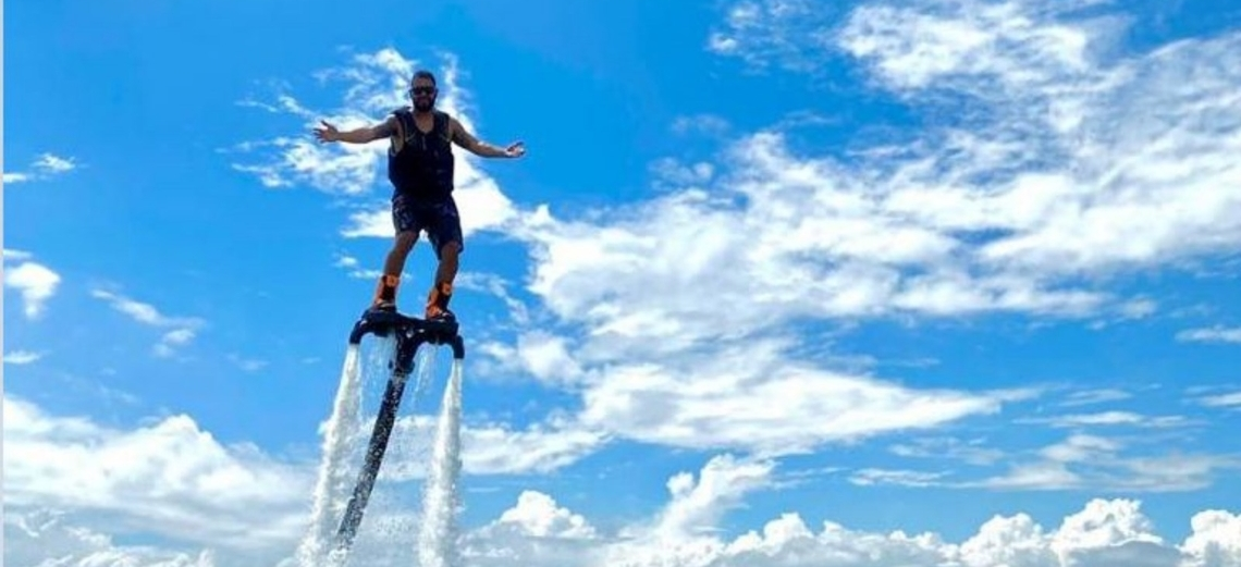 Flyboard na Riviera XIII