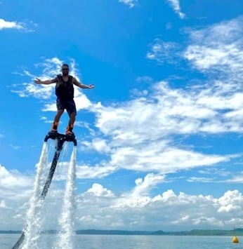 Flyboard na Riviera XIII