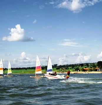 O velejo do windsurf