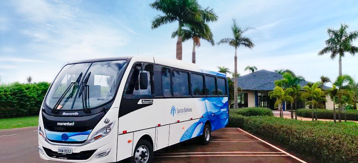 Ônibus voltam a circular no Santa Bárbara