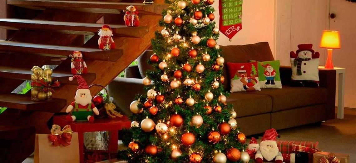 Criatividade ajuda a variar decoração de natal