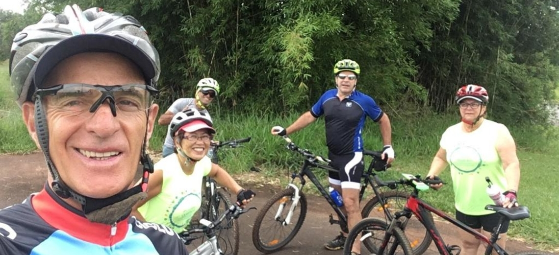 Ciclismo une proprietários da Riviera de Santa Cristina XIII