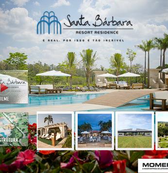 O Santa Bárbara Resort Residence ganhou um aplicativo