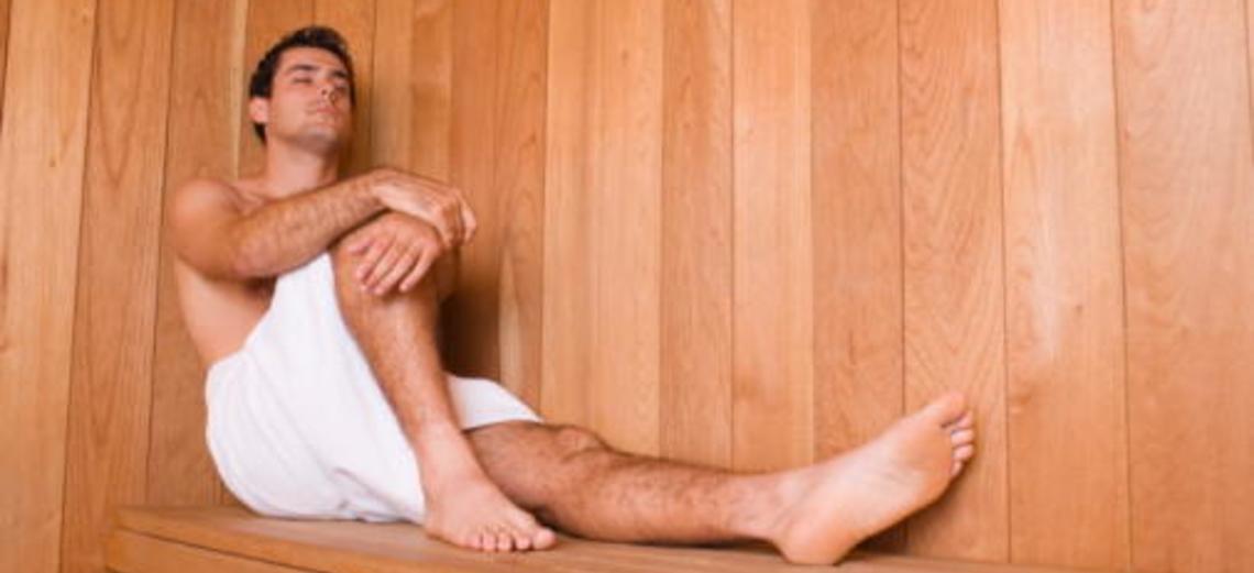 Benefícios do uso correto da sauna