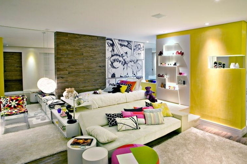 3 dicas coloridas para decorar a casa