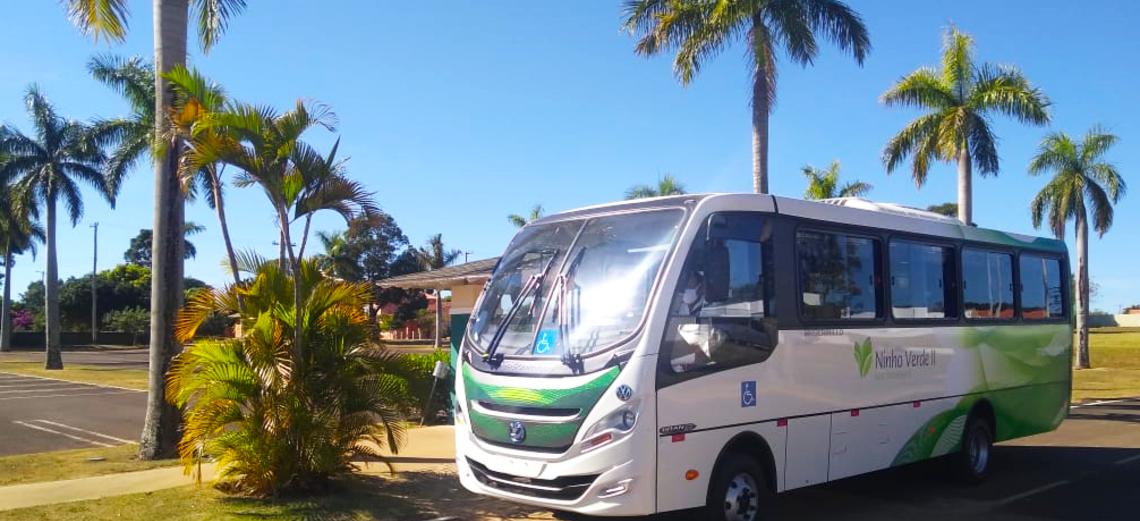 Ônibus voltam a circular no Ninho Verde II