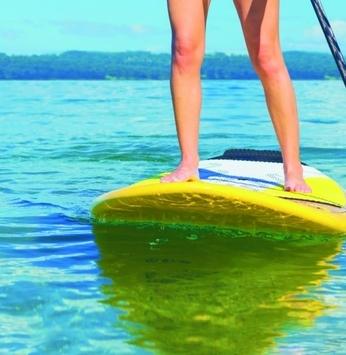 SLIM oferece aulas semanais de stand up paddle na Riviera XIII