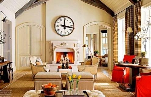 Decore a casa com relógios