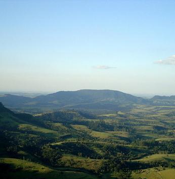 Uma das paisagens mais belas: conheça a Cuesta de Botucatu