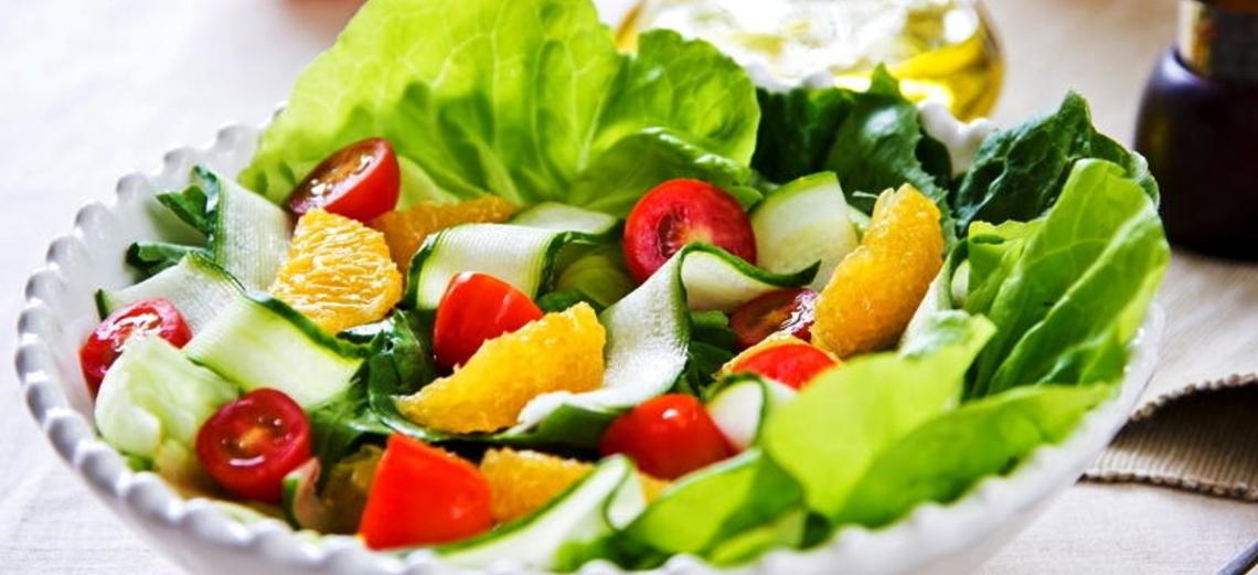 Alimente-se bem com saladas verdes