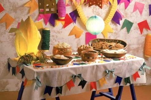 Decore a sua casa para as festas juninas