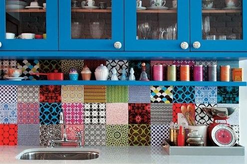 Como utilizar azulejos decorados