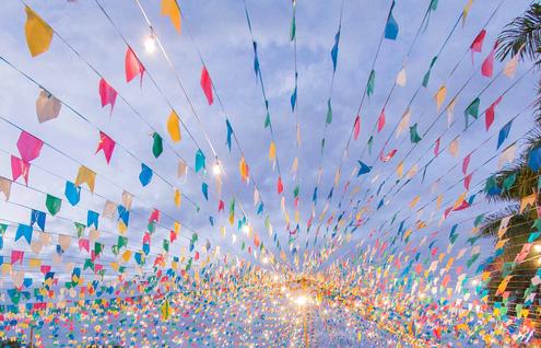 Festa Julina alegra Santa Bárbara Resort Residence e é sucesso mais uma vez