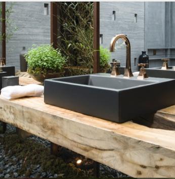 Inove o banheiro e a cozinha com os novos metais