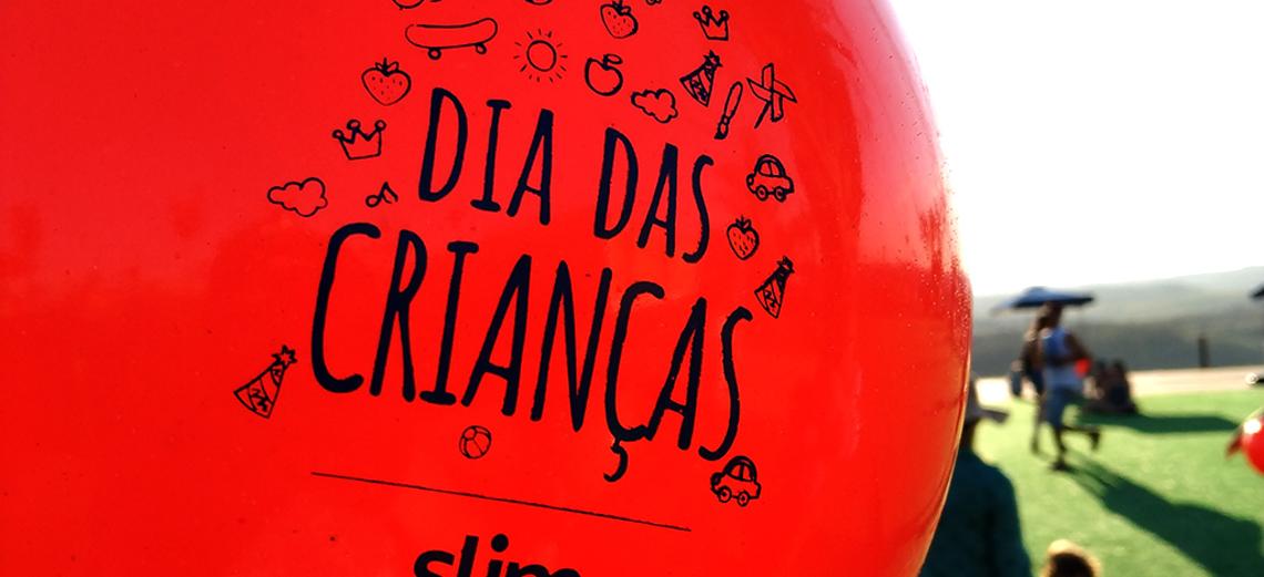 Dia das Crianças com festa pra lá de animada no Terras de Sta. Cristina V!