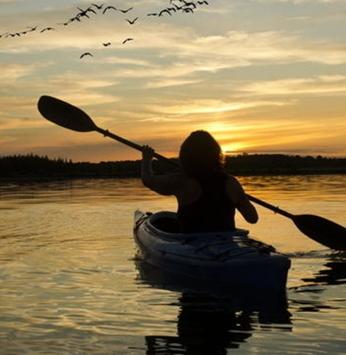 Canoagem e aventura
