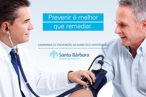 Santa Bárbara Resort Residence realiza exames gratuitos em idosos