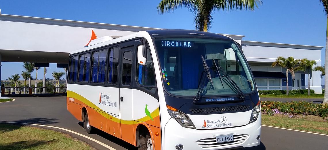 Você já utilizou o serviço de Transporte Coletivo interno da Riviera XIII?