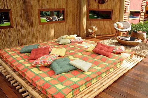 O aconchego dos futons na decoração
