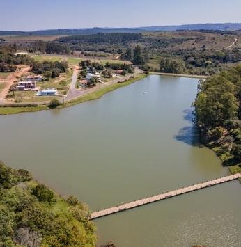 Área verde preservada se destaca no Ninho Verde II Eco Residence