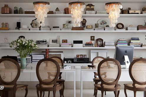 Móveis de palhinha: Frescor e toque vintage aos ambientes